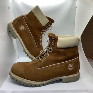 Timberland Genuine Leather Uppers Size 12m